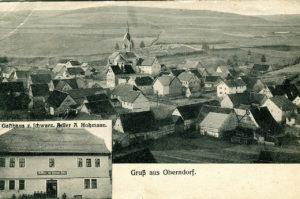 Ansichtskarte Oberndorf 1910