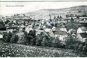 Ansichtskarte Oberndorf 1920