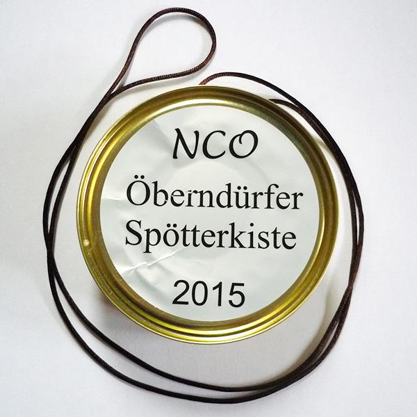 NCO Orden Sitzung 2015